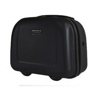 Kuferek, kosmetyczka podróżna Puccini ABS, czarna