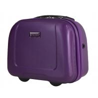 Kuferek, kosmetyczka podróżna Puccini ABS, fioletowy