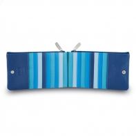 Skórzany portfel saszetka marki DuDu®, niebieski