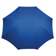 Szeroka podwójna parasolka w kolorze niebieskim