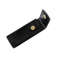 Etui na okulary Orsatti EO01 w kolorze czarnym, skóra