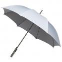 Duża automatyczna damska parasolka w kolorze białym