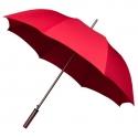 Duża automatyczna damska parasolka w kolorze czerwonym