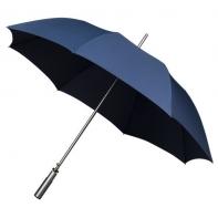 Duża automatyczna damska parasolka w kolorze granatowym