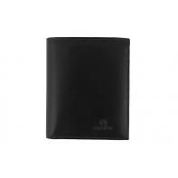 3ee4de6c38458f Męski, doskonale wyposażony portfel Orsatti M01A w kolorze czarnym, pionowy
