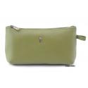 Damska kosmetyczka Puccini P-1505 w kolorze jasno zielonym