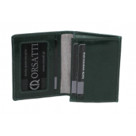Etui na wizytówki Orsatti EW01 w kolorze zielonym
