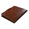Teczka konferencyjna Orsatti w kolorze brązowym z kalkulatorem i rączkami