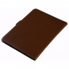 Teczka konferencyjna Orsatti w kolorze brązowym z kalkulatorem