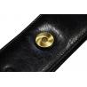 Etui na długopisy Orsatti w kolorze czarnym, skóra