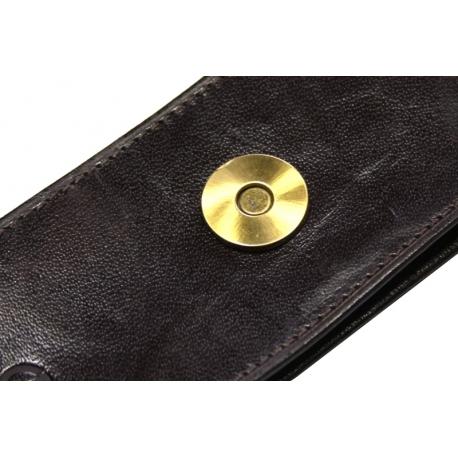 bcbc57dd1b590 Etui na długopisy Orsatti w kolorze brązowym