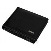 Bardzo mały, skórzany portfel Nicolas z zapięciem w środku
