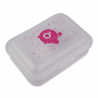 Śniadaniówka lunchbox Topgal, różowe logo