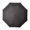 Klasyczna składana damska parasolka SZARA