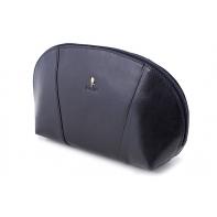 Damska kosmetyczka Puccini P-1503 w kolorze czarnym