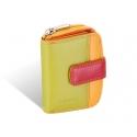 Maleńki portfel damski Valentini, pomarańczowy, zielony + inne