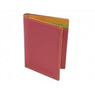 Kolorowe etui na dokumenty Valentini, czerwone + inne