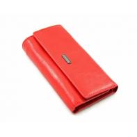 Długie etui na klucze Albatross, kolor czerwony, skóra