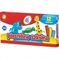 plastelina AS Astra 12 kolorów