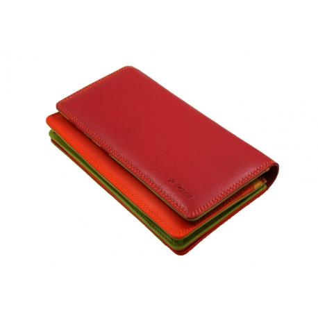 b5406d07765ed Kolorowy portfel damski Valentini