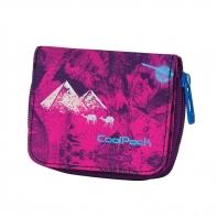 Młodzieżowy portfel damski Coolpack Purple Desert 544