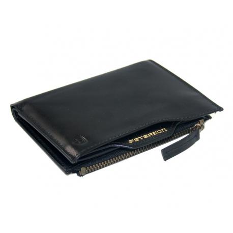 43ab04da33a66 Cienki portfel męski marki Peterson z wkładką