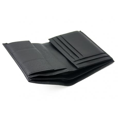 9cafd16189e2a Skórzany portfel męski Valentini RFID, czarny, klasyczny