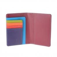 Etui na dokumenty marki DuDu®, fioletowy + kolorowy środek