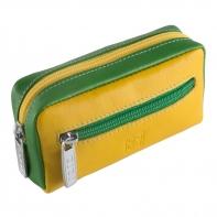 Etui na klucze sakiewka marki DuDu®, żółty + zielony