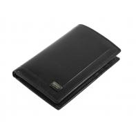 Etui na karty Rovicky z kieszenią na banknoty, czarne