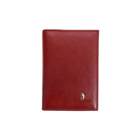 9d61cfd2b9e09 Etui na dokumenty Puccini MU-1595 w kolorze czerwonym