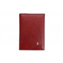 Etui na dokumenty Puccini MU-1595 w kolorze czerwonym