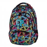 Młodzieżowy plecak szkolny CoolPack College 27L, Color Triangles 651