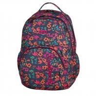 Młodzieżowy plecak szkolny CoolPack Smash 26L, Floral Dream 909