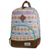 Bardzo lekki plecak szkolno - miejski CoolPack Classic 17 L, Aztec