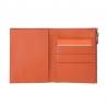 SUPER cienki portfel marki DuDu® Zip-It, pomarańczowy