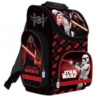 Tornister szkolny dla chłopca Star Wars Epizod VII, czerwony