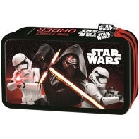 Piórnik podwójny z wyposażeniem Star Wars Epizod VII, czerwony