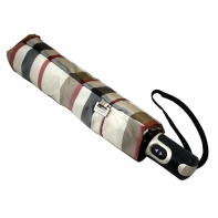 Bardzo mocna automatyczna parasolka damska Doppler, kratka