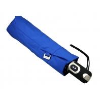 Bardzo mocna automatyczna parasolka Doppler, niebieska