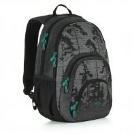 Dwukomorowy plecak młodzieżowy Topgal HIT 896
