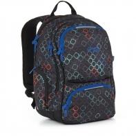 Dwukomorowy plecak młodzieżowy Topgal HIT 887