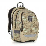 Plecak szkolny dwukomorowy dla chłopca Topgal CHI 872