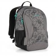 Dwukomorowy plecak młodzieżowy Topgal HIT 893