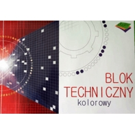 b244d78e63c41e Blok techniczny kolorowy 10 kartek A3