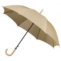 Automatyczna parasolka w kolorze beżowym