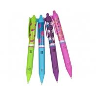 Pachnący zestaw 4 ekologicznych brokatowych długopisów żelowych Smens, SCENTCO