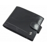 Skórzany portfel męski Rovicky w kolorze czarnym
