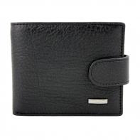 Bardzo mały, skórzany portfel Nicolas z praktycznym zapięciem
