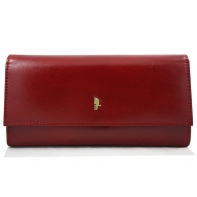 Portfel damski Puccini MU-1680125 w kolorze czerwonym